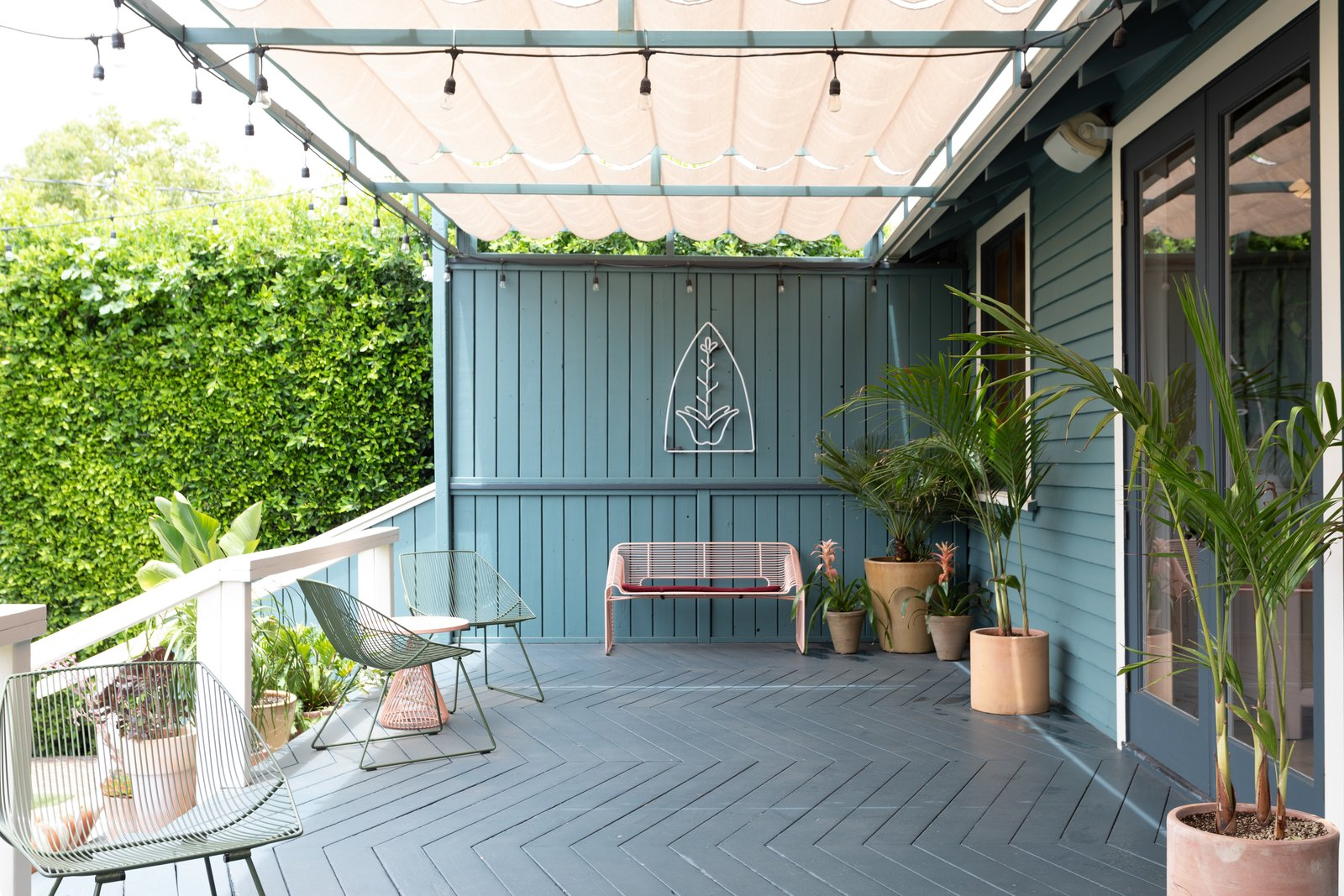 The Ruby Street patio