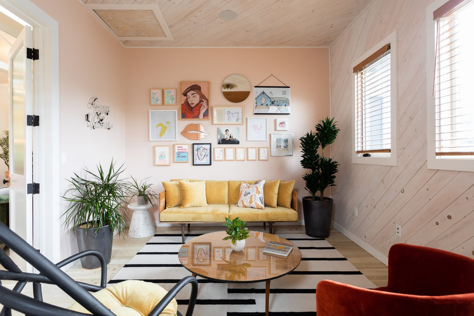 The Ruby Street living area