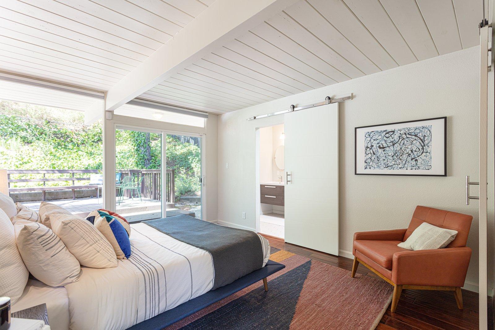 Sequoyah Hills Eichler home bedroom