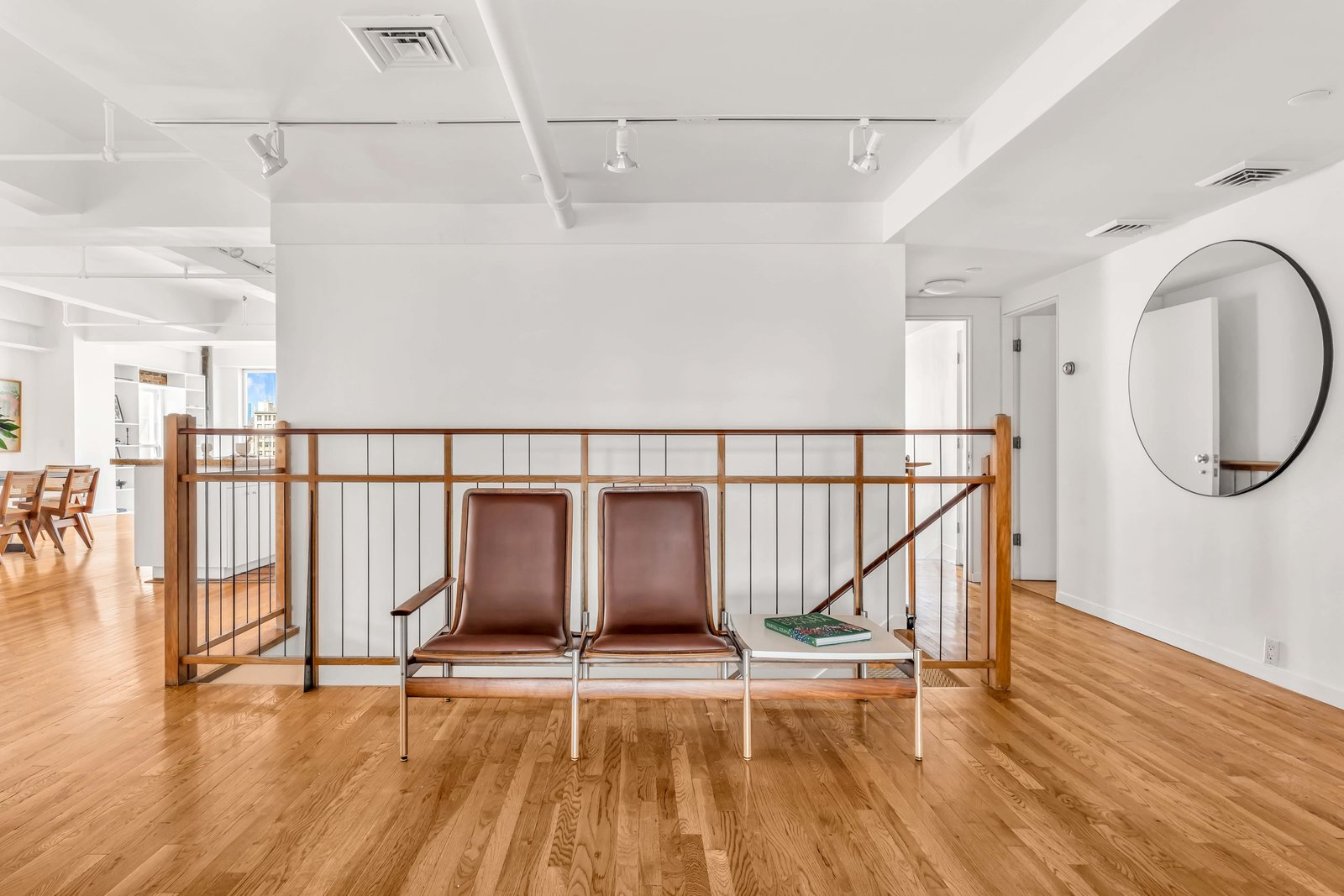 Staircase in Susan Sarandon's Chelsea Duplex Loft