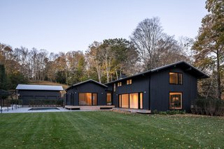 Located on a 13-acre property filled with meadows and wetlands, this home was once a lackluster complex of three midcentury structures—until vonDalwig Architecture unified them with a carefully considered renovation.