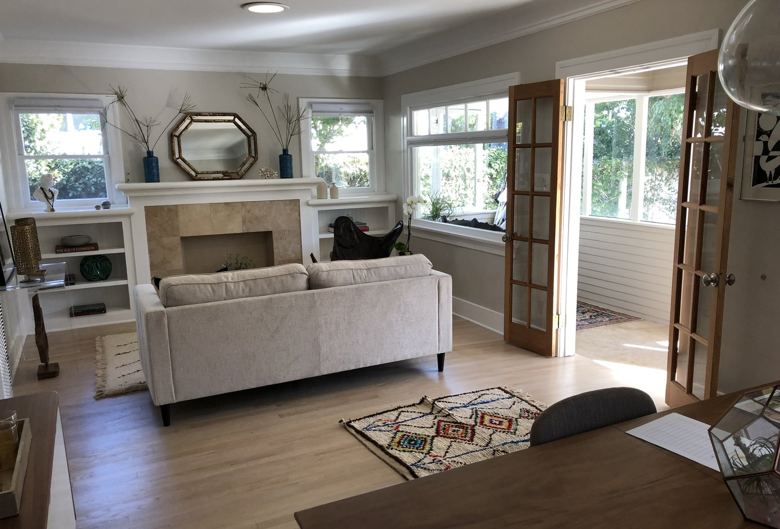Before: Coeur D'Alene Residence living room