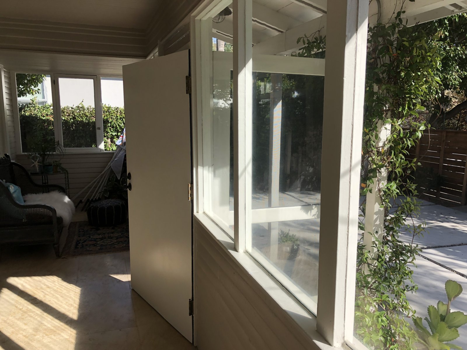 Before: Coeur D'Alene Residence  sunporch