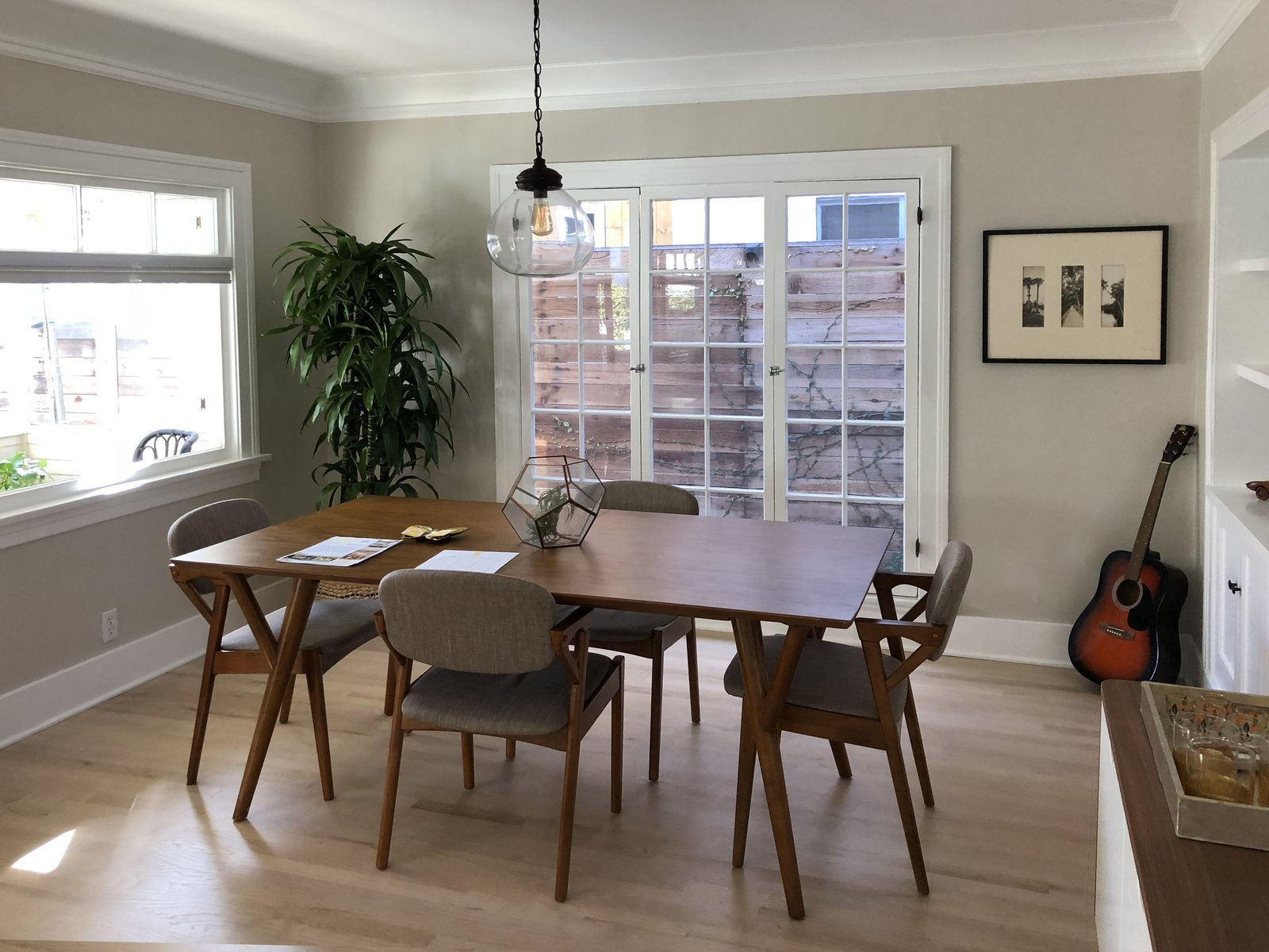 Before: Coeur D'Alene Residence dining room