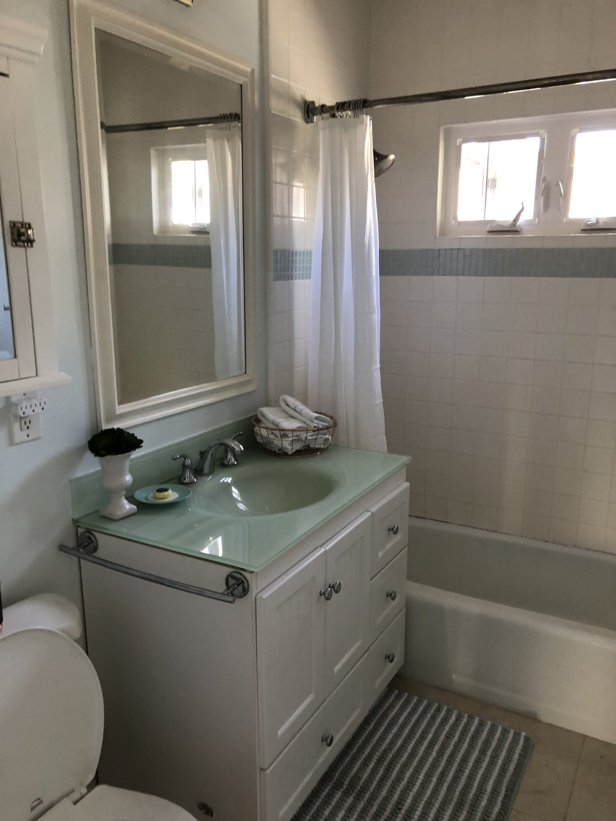 Before: Coeur D'Alene Residence bathroom