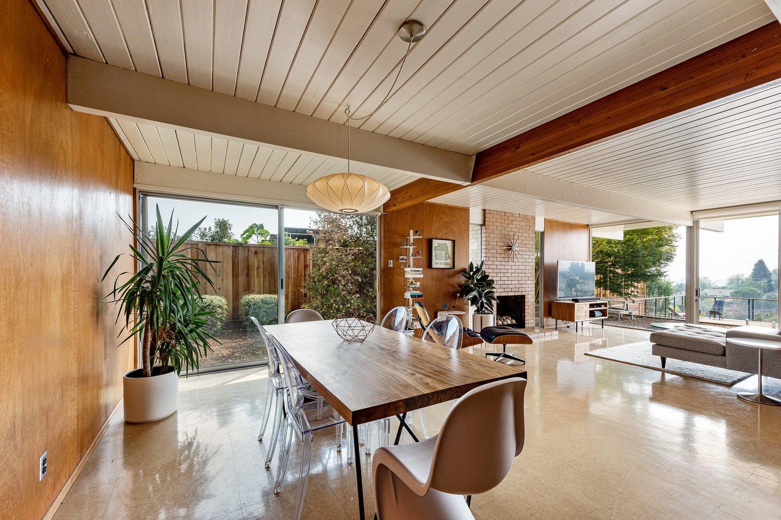 A. Quincy Jones Eichler Bay Area REal Estate Nelson Bubble pendant lgiht