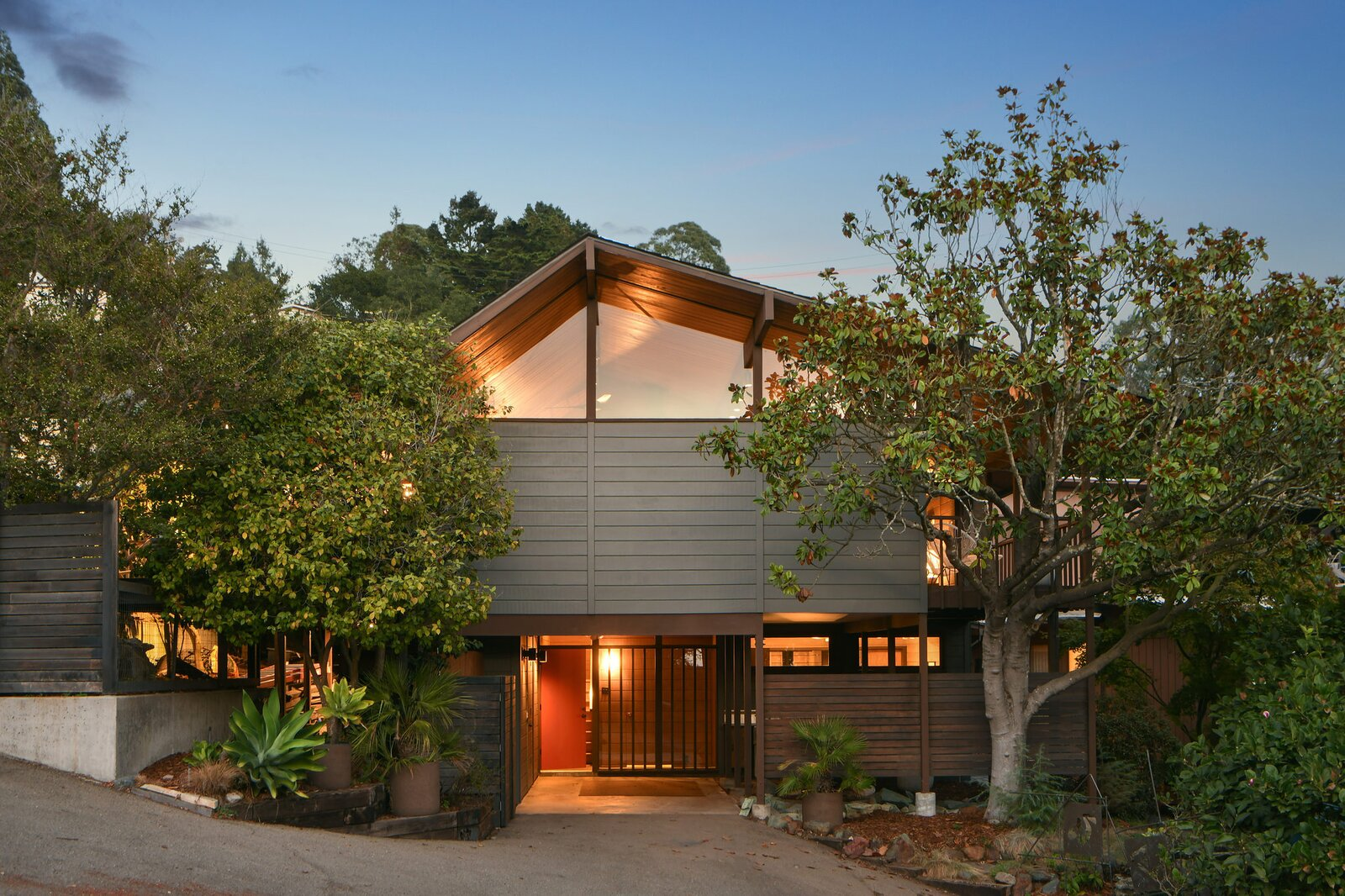 Exterior of the Hargrove Residence by Roger Lee