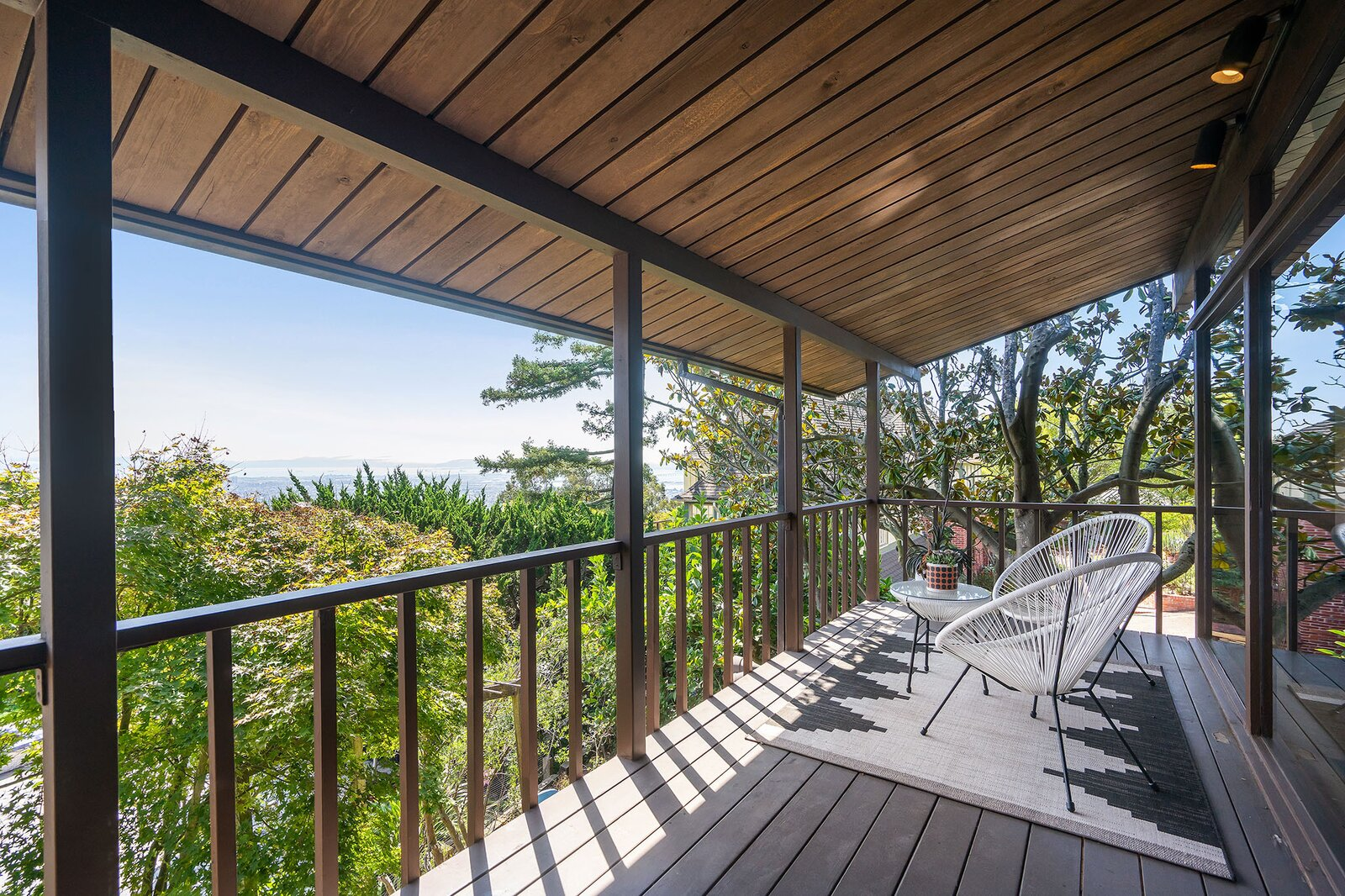Deck at the Hargrove Residence by Roger Lee