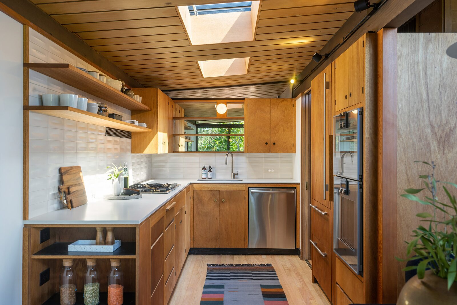 Kitchen in the Hargrove Residence by Roger Lee