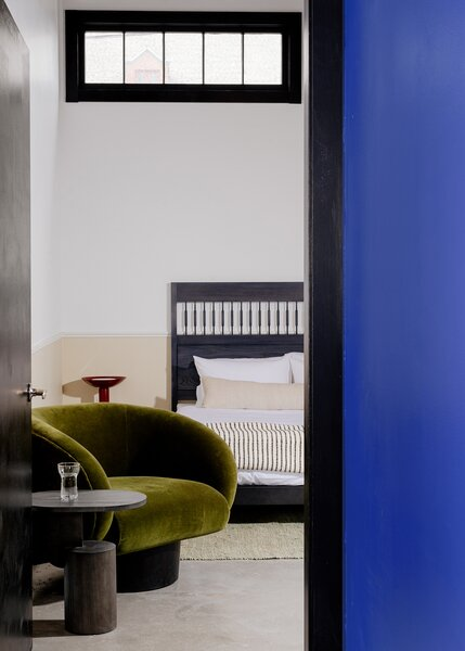 """The Heddle Suite is """"the look is one of New England design turned on its head"""