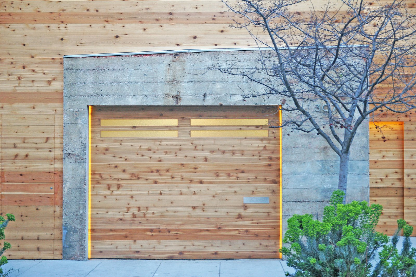 Garage Entrance | Garage  Shotwell Residence by Todd Davis Architecture
