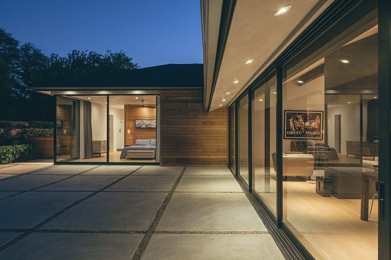 Doors and Sliding Door Type The flying cantilever provides a spectacular effect, says architect Dan Weber.  A Perfect Match