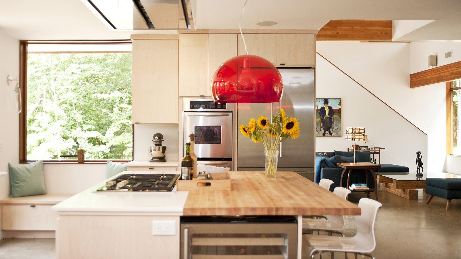 Photo by Deborah DeGraffenreid  Wallkill River House by Turkel Design