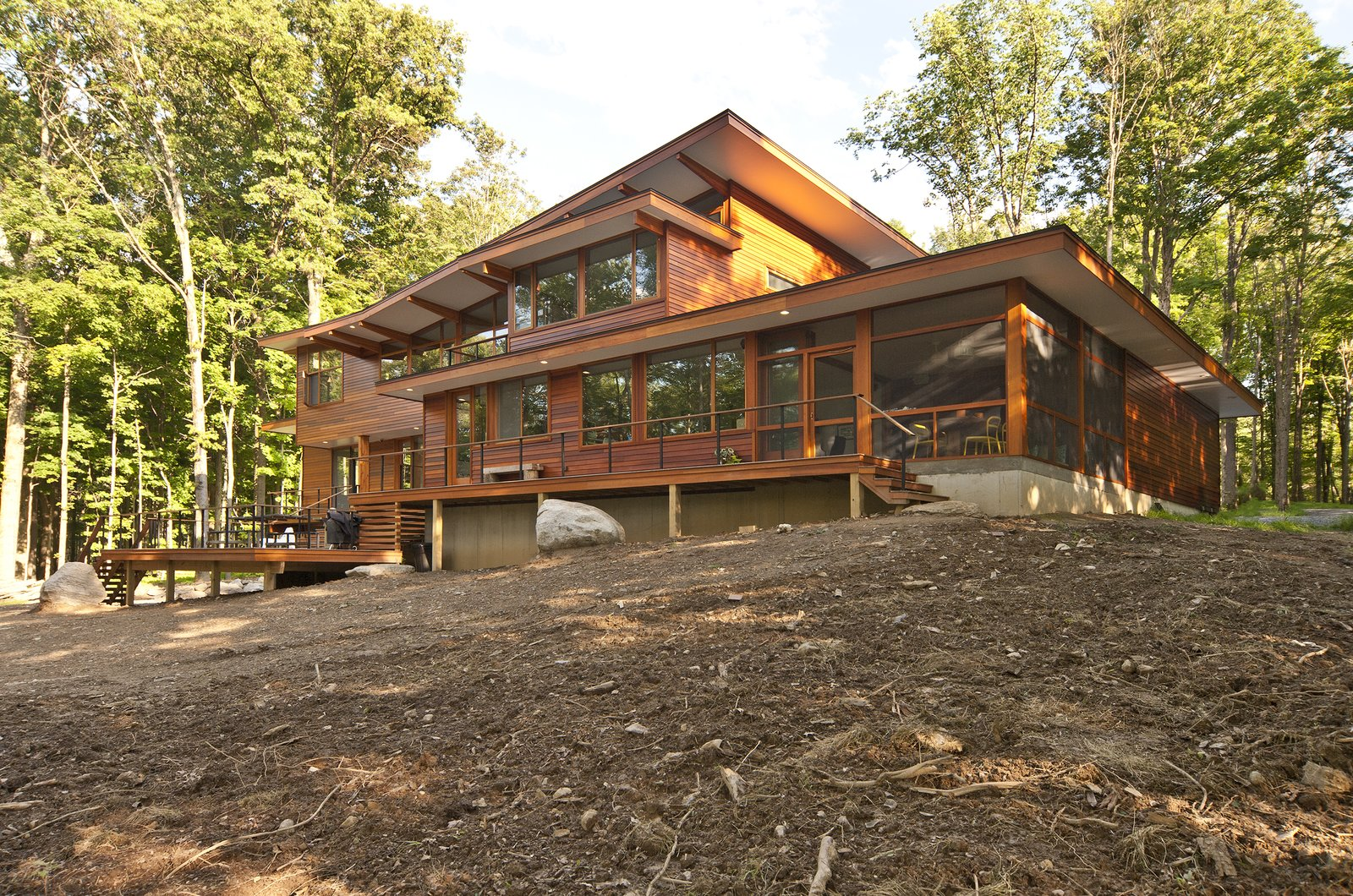 Wallkill River House Modern Home In New York By Turkel