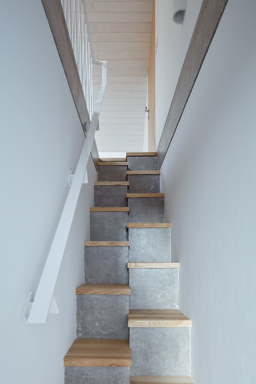 Village House concrete staircase