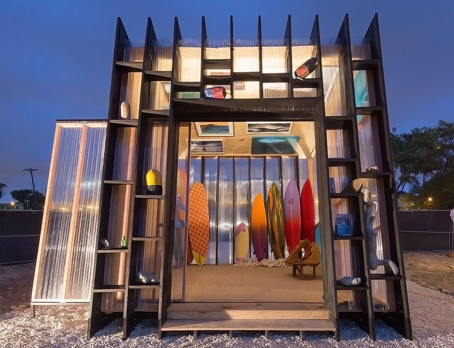 """Yves Behar""""s surf shack.  Surf Shacks"""