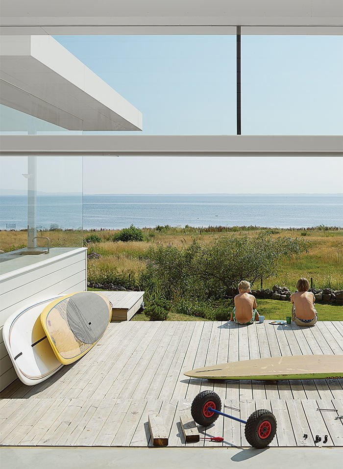 Parsonson Architects, Sweden  Surf Shacks