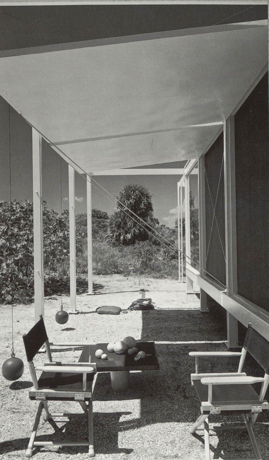 Walker guest house, Paul Rudolph, architect.  Surf Shacks