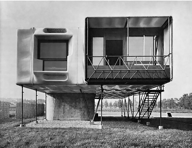 Dieter Schmid, plastic house 1963  The Future was...