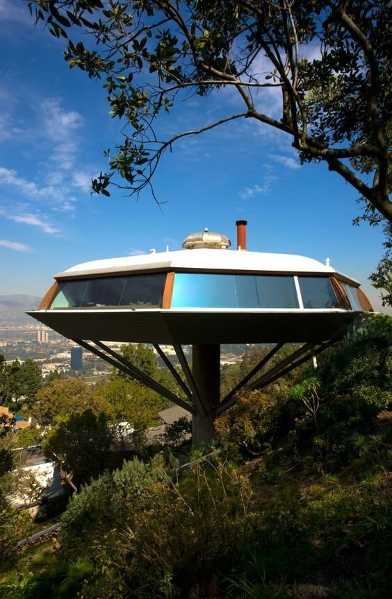 John Lautner, Chemosphere house  The Future was...