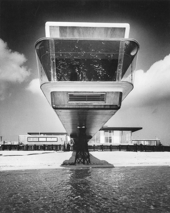 Bertrand Goldberg, Shelter Island 1952  The Future was...