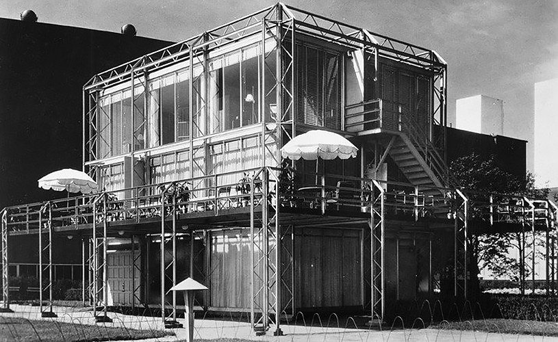 Crystal House, Keck & Atwood Architects  The Future was...