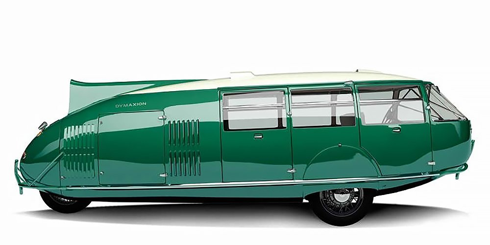 Buckminster Fuller's Dymaxion Car  Photos from The Future was...