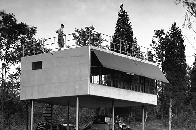 Albert Frey Canvas Weekend House  The Future was...