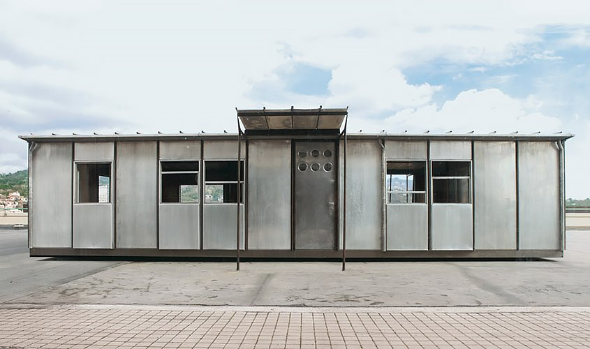 Jean Prouve, demountable house  Demountable Structures