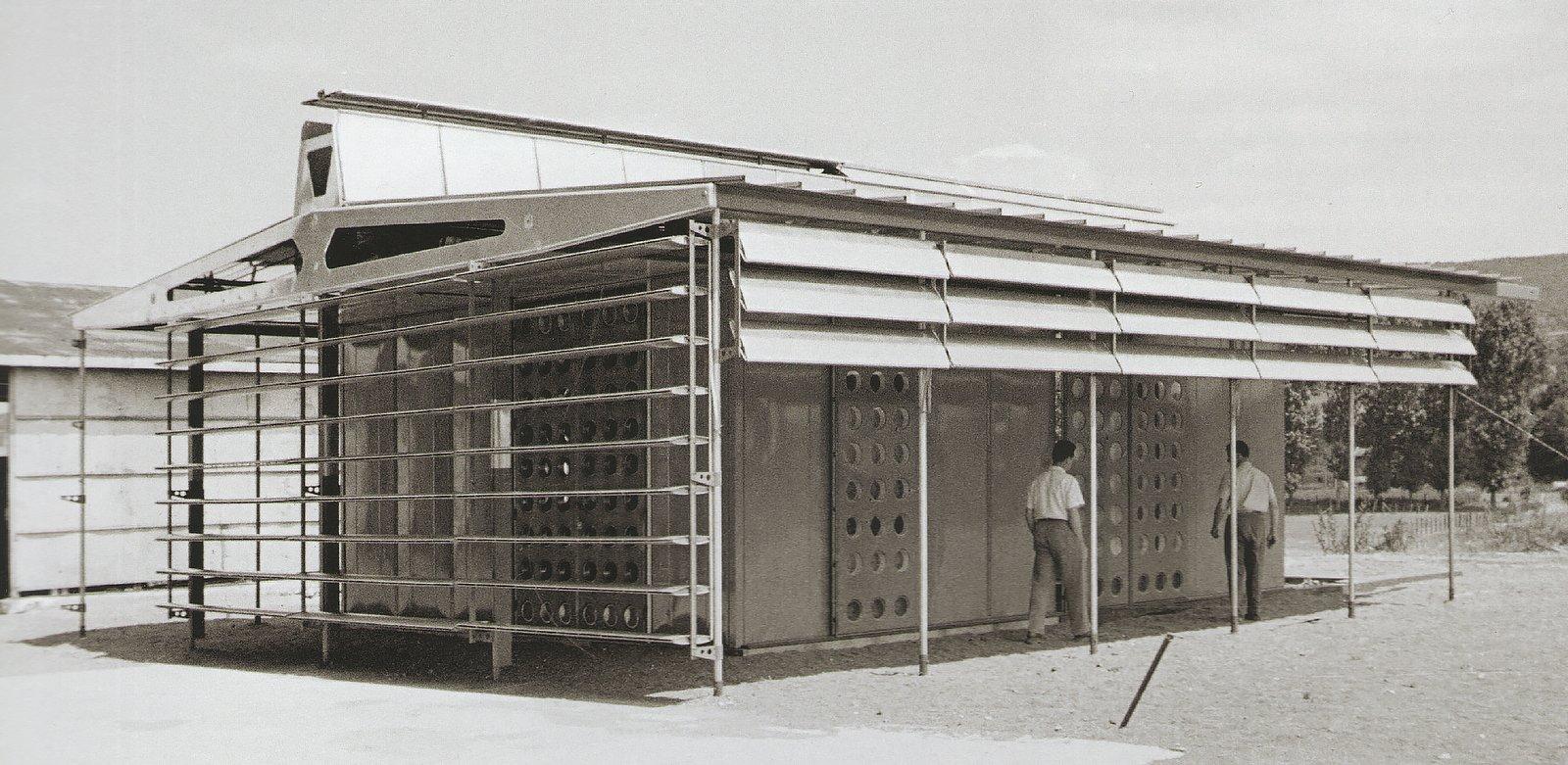 Jean Prouve, Maison Tropicale  Demountable Structures