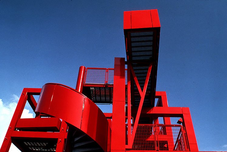 Parc de la Villette - Bernard Tschumi Architects, 1982 - 1998  RED