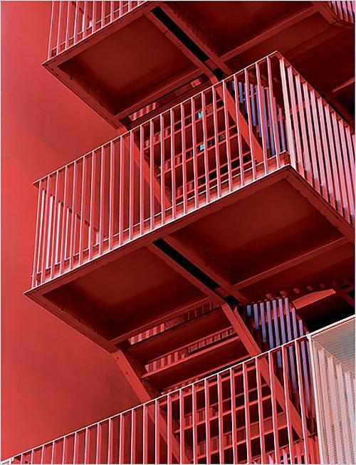 MVRDV staircase  RED