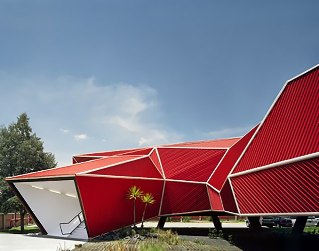Nestlé Chocolate Museum by Rojkind Arq  RED