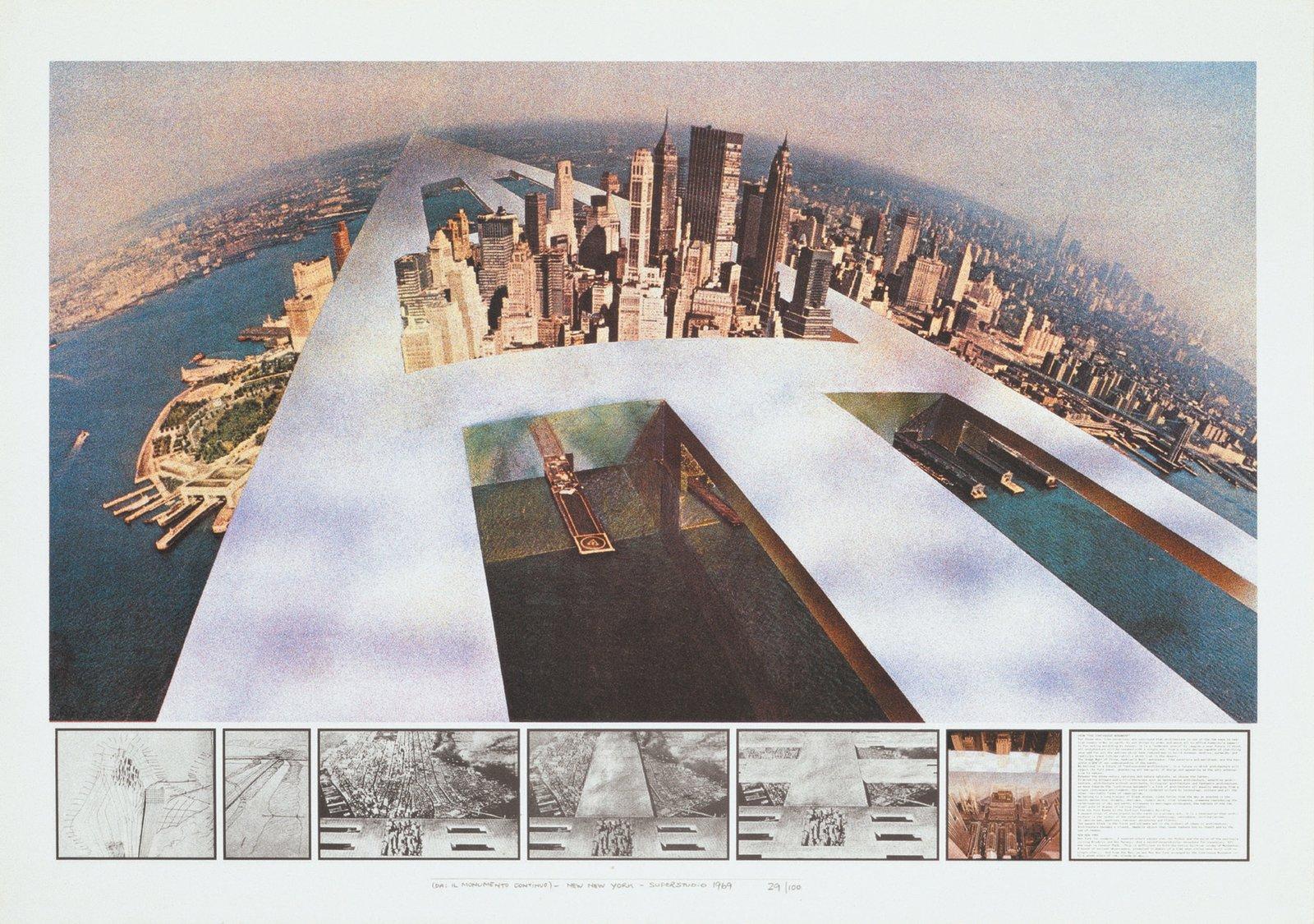 Superstudio, Continuous Monument  Free Radicals
