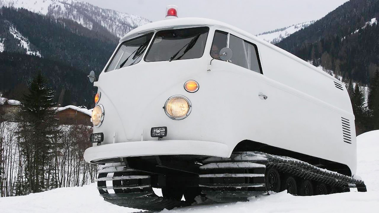 VW snow cat  Adventure from Independence and Mobility