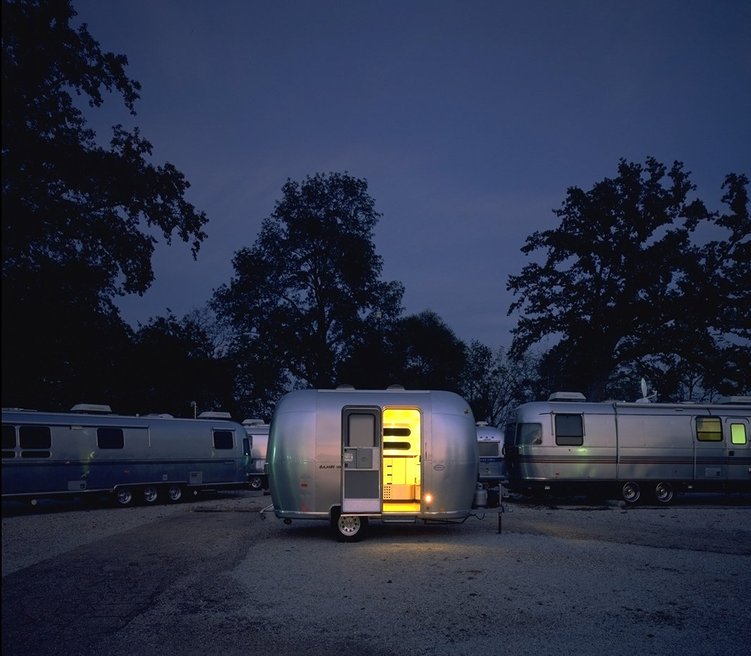 Airstream Bambi, Chris Deam  Independence and Mobility