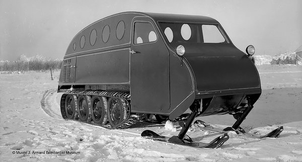 Bombadier snow cat  Independence and Mobility