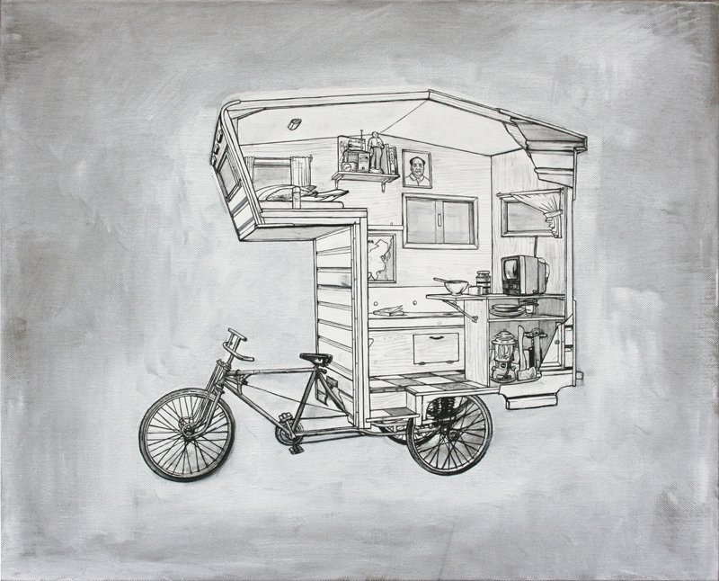 Bike Camper, Kevin Cyr  Independence and Mobility
