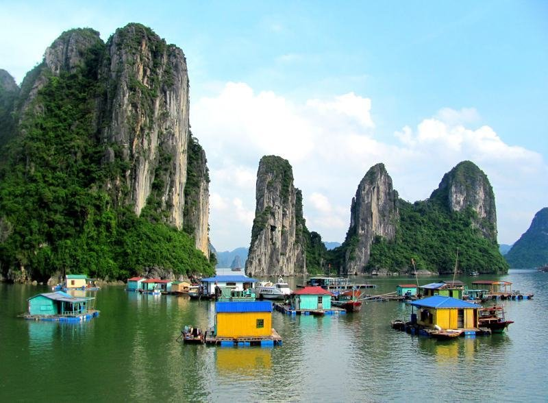 Floating Village, Ha Long Bay, Vietnam  Architecture without Architects