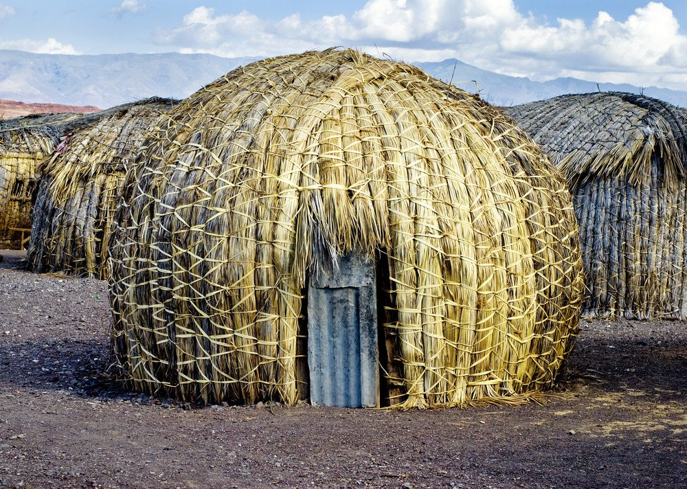 Sub-Saharan Africa reed hut  Architecture without Architects