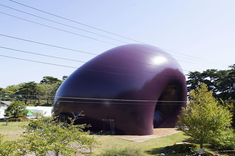 "Ark Nova inflatable concert hall | Anish Kapoor & Arata Isozaki  Search ""inflatable"" from Pneumatic Design"
