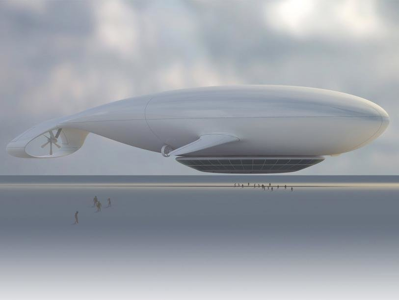 Manned Cloud-massaud, Jean-Marie Massoud  Pneumatic Design