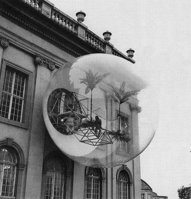 Haus-Rucker Co. Oase No. 7 at documenta V, Kassel, 1972  Pneumatic Design