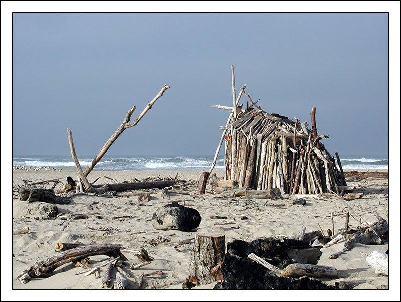 San Geronimo State Beach,  Crockett  Surf Shacks