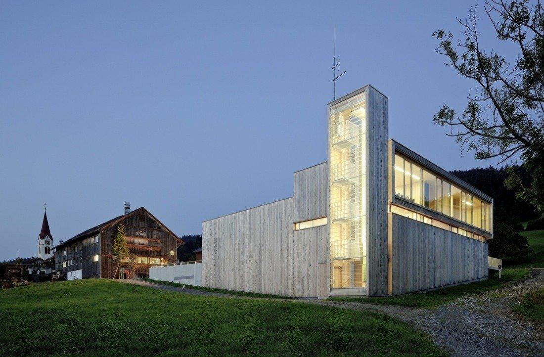 Dietrich   Untertrifaller Architekten  Firehouses