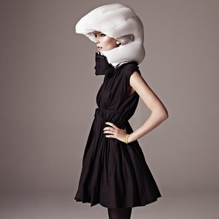 Hovding inflatable bicycle helmet by Anna Haupt and Terese Alstin