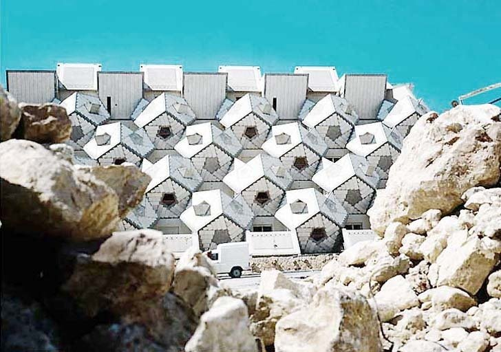 Zvi Hecher's  Ramot Polin Housing Complex  The Future was...
