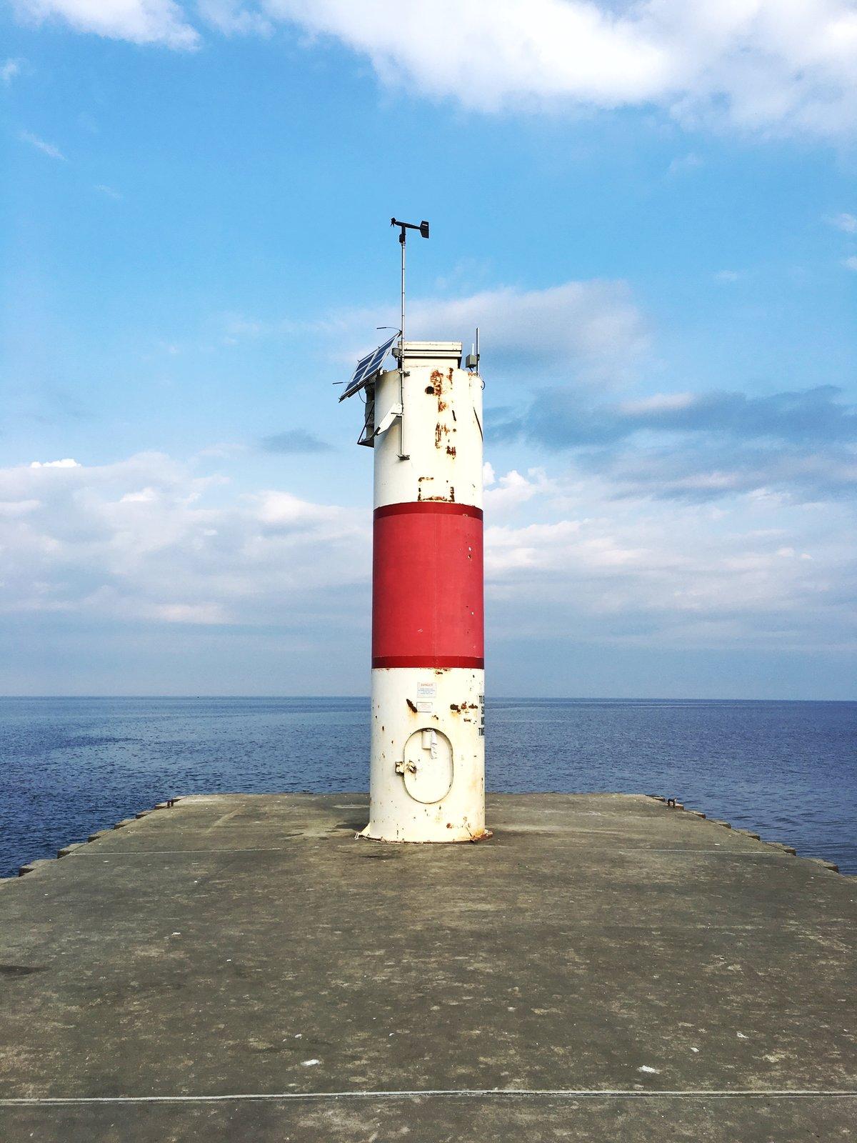 Kalamazoo River   Modern Lighthouses
