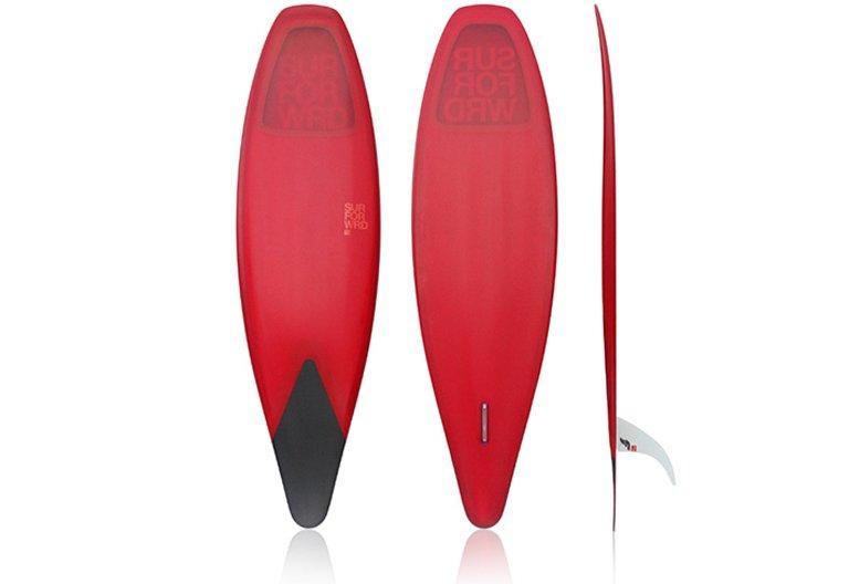 "Meyerhoffer ""slip in"" surfboard.  Swedish Fun"