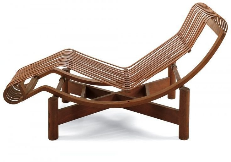 Chaise longue en bambou Japon, 1941  Independent works of Charlotte Perriand